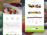 Gourmet Lab Landing Page