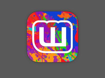 Clubs Icon app icon icon paint color colour iphone ios book clubs clubs app clubs wattpad