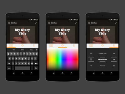Covers Text Editor for Android