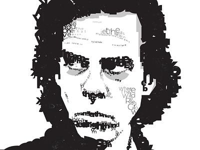 Nick Cave character poster design poster art posters poster nick cave typography poster typography design typographie typographic typography art type design typedesign type art typeface type typography illustration vector design