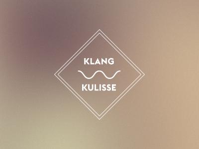 Klangkulisse Logo logo branding sound audio