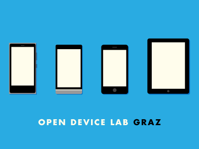 Open Device Lab Graz branding icons mobile device lab ios android