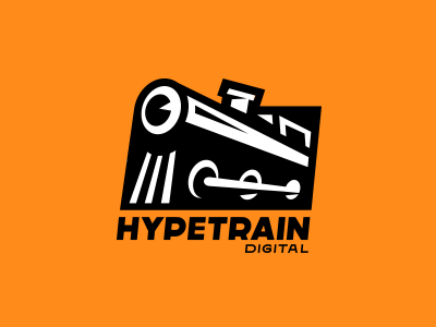 Hypetrain black logo train hype