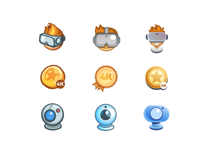 TPD icons - style explorations
