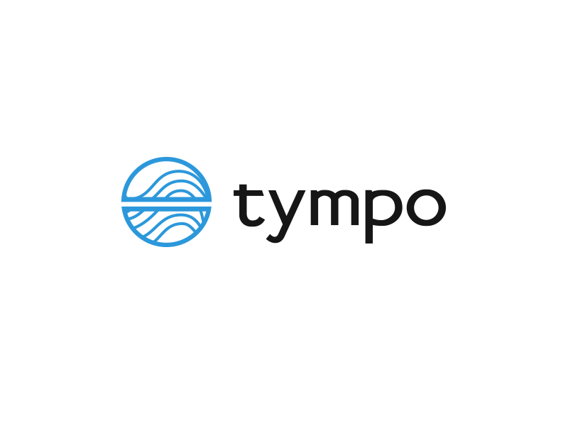 Tympo - concepts sound ear water sports logo