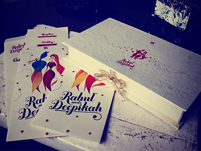 My wedding stationery