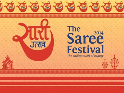 The Saree Festival Branding