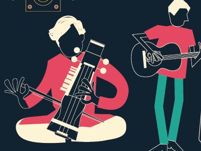 Sneak peak! New gig poster  indian music sarangi rajasthani guitar kurta indian wear classical fusion