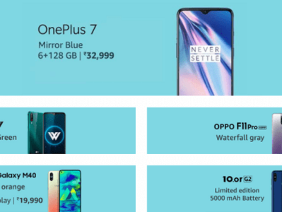 Top Smartphones Latest Launches on Amazon Prime Day