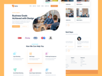 Landing Boys - Business and Design branding business web design web ux design ux ui design ui interaction inspiration design brand page webflow marketing site landing website