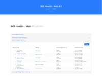 Ims health   web kit
