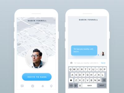 Chat + Hang App