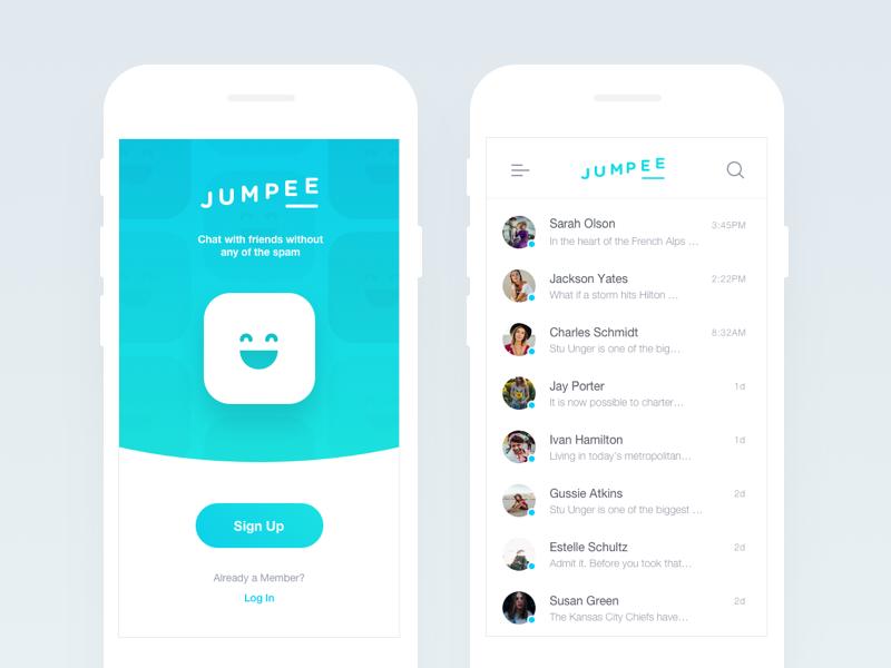 Chat App ios ux shopping principle messenger e-commerce commerce conversational chatbot chat bot app