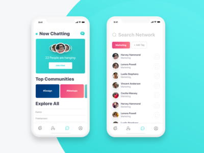 Community Chat and Contact Directory
