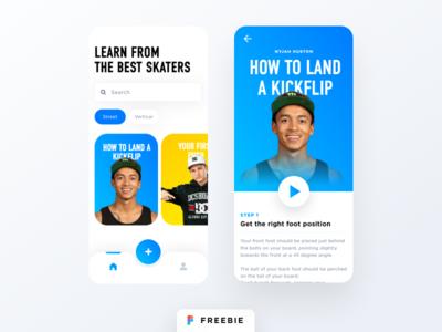 Skateboard Coach - Lessons App
