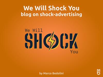 Logo: We Will Shock You design logo branding