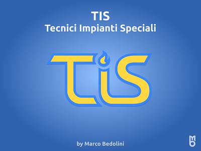 Logo: TIS design logo branding