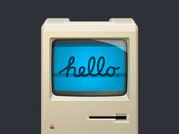 Hello mac 512px