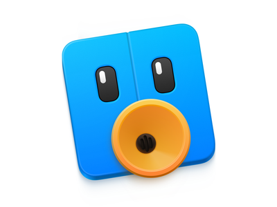 Old Tweetbot icon tribute madewithsketch sketchapp apple os x icons mac icon 💎 app