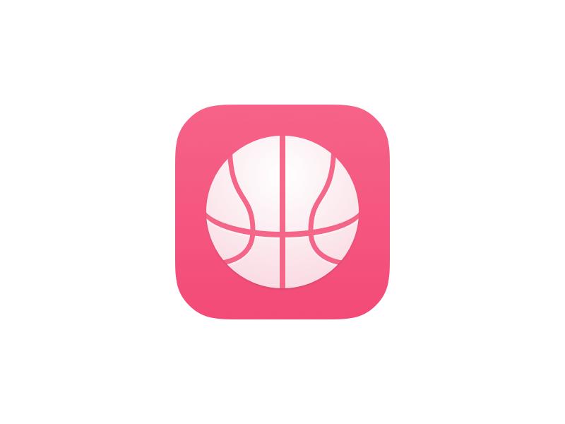 Balllin' 2.0 available now dribbble app ios iphone ipad 💎