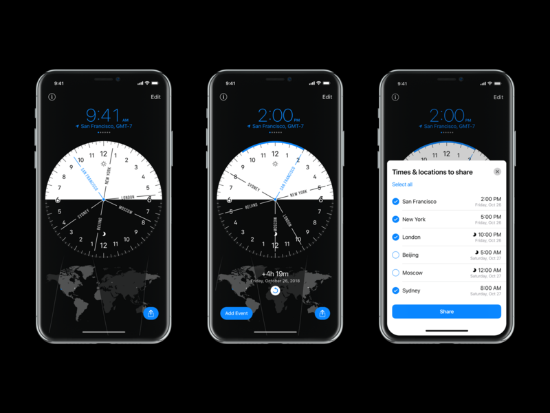 World Clock Pro Mobile – Update 1.5 converter time appstore iphone ios app
