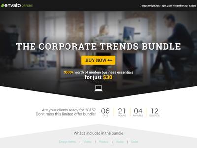 Item Bundle Page for Envato Market
