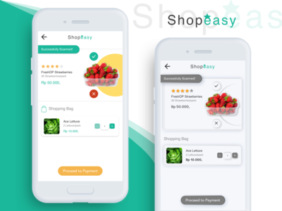 Shopeasy: Skeuomorph Scanning Product