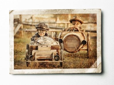 Old Card poster old card photo retouche photo retoucheur retouch illustration photoshop retouching key visual