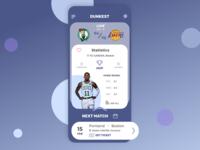 Dunkest, Basketball streaming App