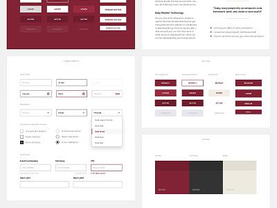 Styleguide Wip simple modern modules pattern library styleguide