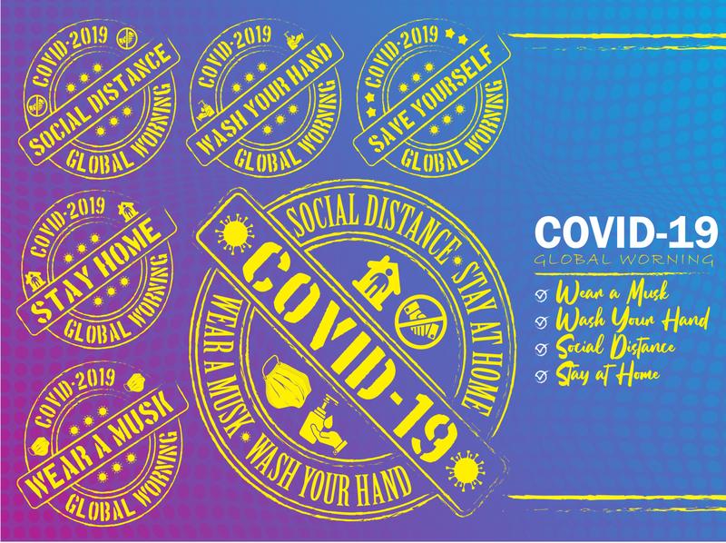 Covid 19 Design, Corona Virus Background Design Illustration background coronavirus covid19 2019 protection symbol banner stay world new tech wallpaper icon logo branding vector illustration graphic design