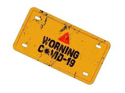Covid 19 Warning Design Vector and PNG Image HD png vector element design icon logo graphics virus corona 19 covid worning warning