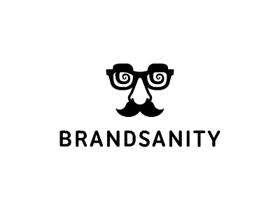 Brandsanity brand sanity brandsanity glasses eyes moustache tash nose disguise logo