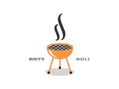 Secondhand Smoked secondhand second hand smoke logo bbq barbecue