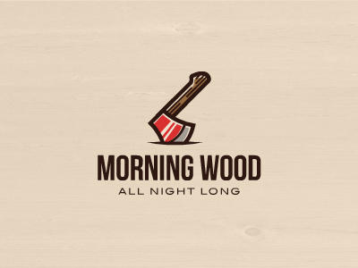Morning wood dribbble