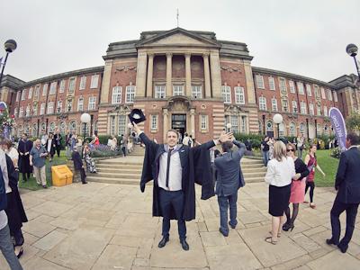 Graduation! graduation university cap gown leeds