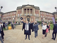 Graduation! graduation university cap gown leeds