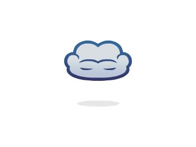 The Cloud Lounge cloud lounge sofa chair internet sit connect logo brandsanity