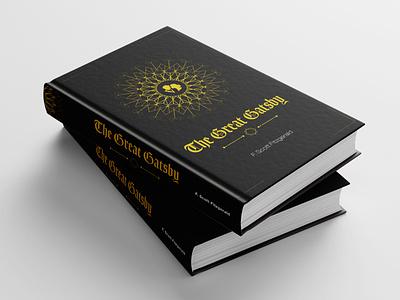 The great gatsby cover design cover art suspense crime black concept design illustration creative design deisgn book cover mockup book cover book cover design