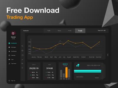 Dashboard Interface | free download icon illustration app design uiux mobile branding app design webdesign uidesign ui