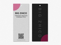 Big Zhico minimal ux typography uidesign design app brand identity illustration vector logo branding
