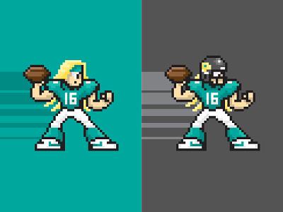 Trevor Lawrence + Mega Man X mega man sega nintendo sprites gaming 8-bit 16-bit snes nfl sports football sports logo
