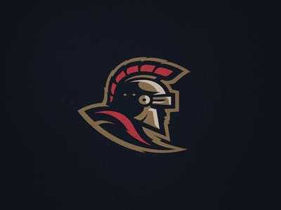 Trojan (Part II) roman rome football sports logo spartan gladiator trojan