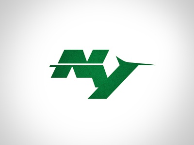 A Monogram Concept Logo For The NY Jets