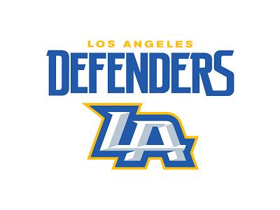 Los Angeles Defenders california type monogram la esports football los angeles sports logo logo