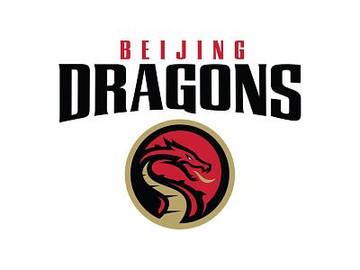 Beijing Dragons esports football dragon chinese dragon china sports logo logo