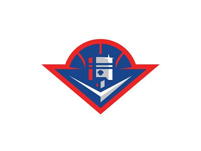 Pistons v8 detroit chrome hot rods cars piston basketball logo illustration sports logo sports