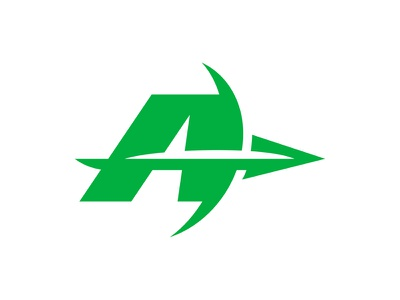 'A' is for Archery typography a logo sports logo sports arrow bow  arrow archer archery