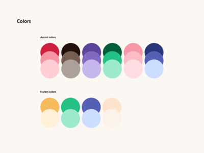 Sexy One – Brand colors one sexy shading branding guide style colors brand