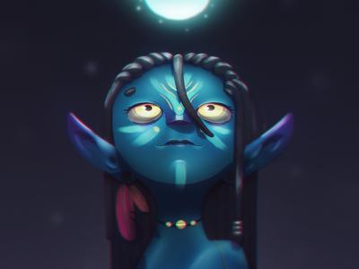 Avatar photoshop character color design brazil illustrator illustration characterdesign artist art